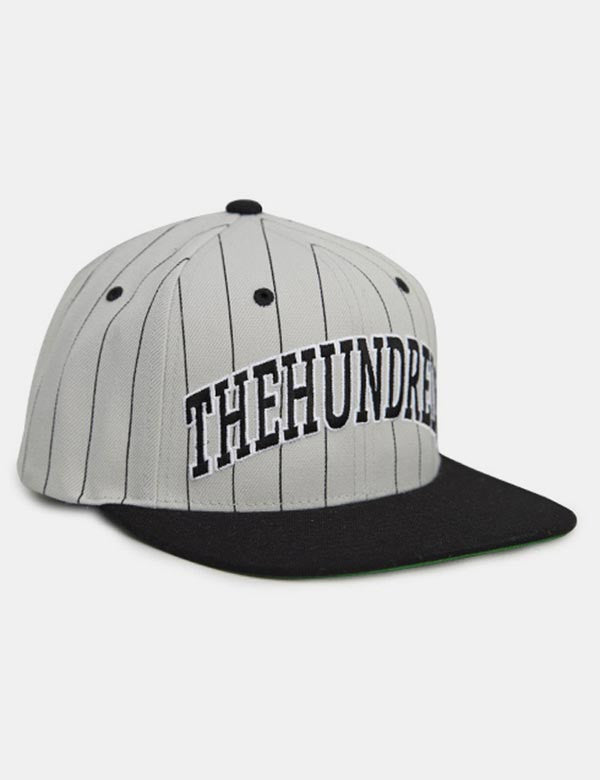 The Hundreds Pins Snapback Cap - Grey/Black