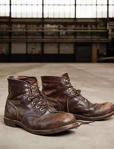 "Red Wing 6"" Iron Ranger Boot (8111) - Amber Brown Harness"