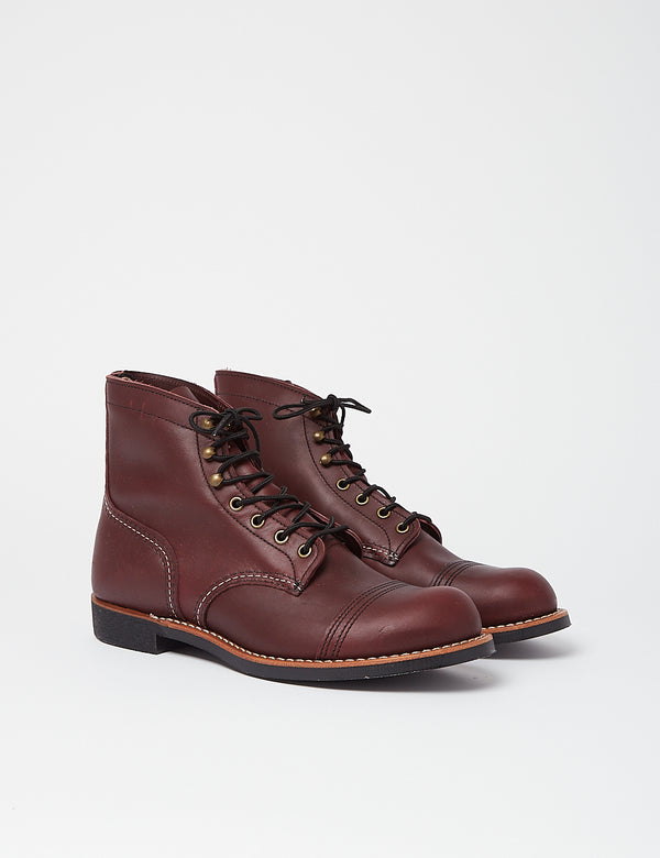 "Bottes Red Wing 6""Iron Ranger (8119) - Oxblood"