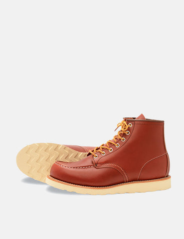"Red Wing Heritage Work 6"" Moc Toe Boot - Oro Russet Portage"
