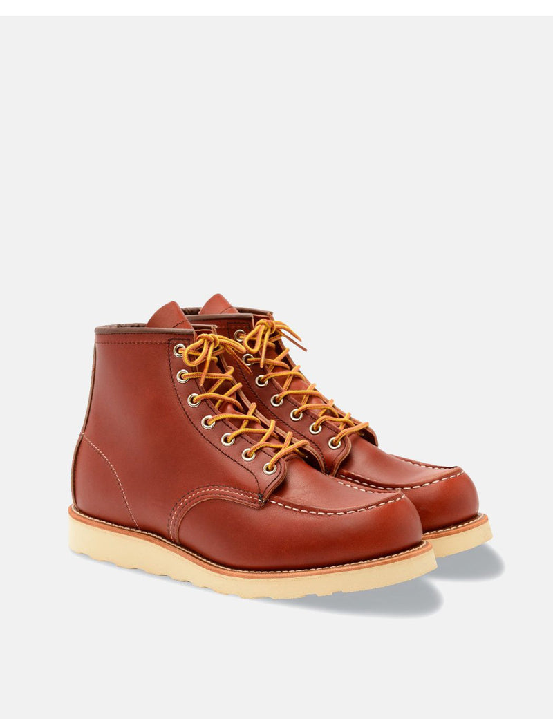 "Red Wing 6"" Moc Toe Boot (8131) - Oro Russet Portage"