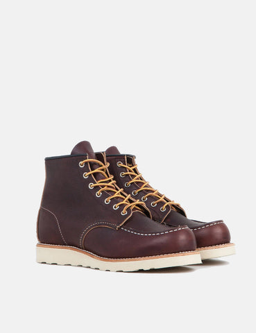 "Red Wing Heritage Work 6"" Moc Toe Boot - Brown"