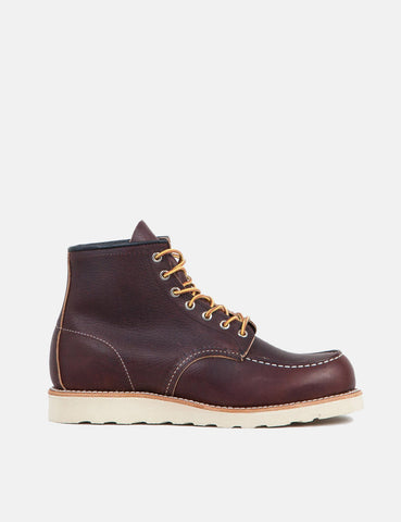 "Red Wing 6"" Moc Toe Work Boots (8138) - Brown"