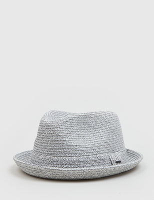 9b0b8ee0178b5 Bailey Billy Light Trilby Hat - White – URBAN EXCESS