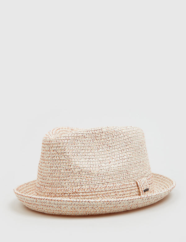 Bailey Billy Trilby Hat - Carnelian Beige
