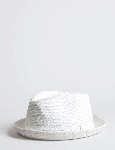 Bailey Billy Light Trilby Hat - White