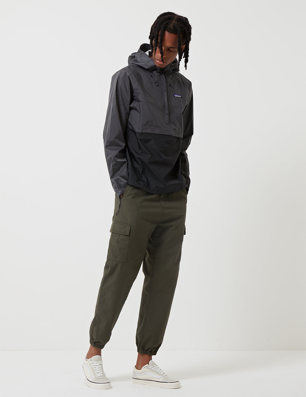 Patagonia Torrentshell Pullover - Forge Grey/Black