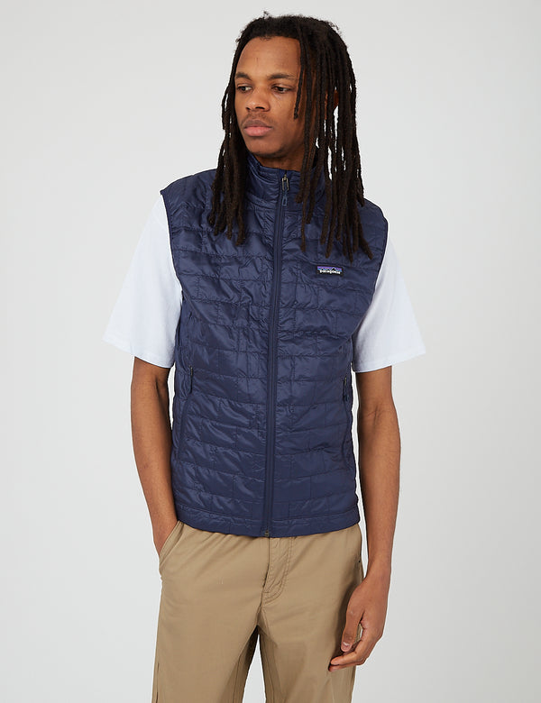 Patagonia Nano Puff Vest - Classic Navy Blue