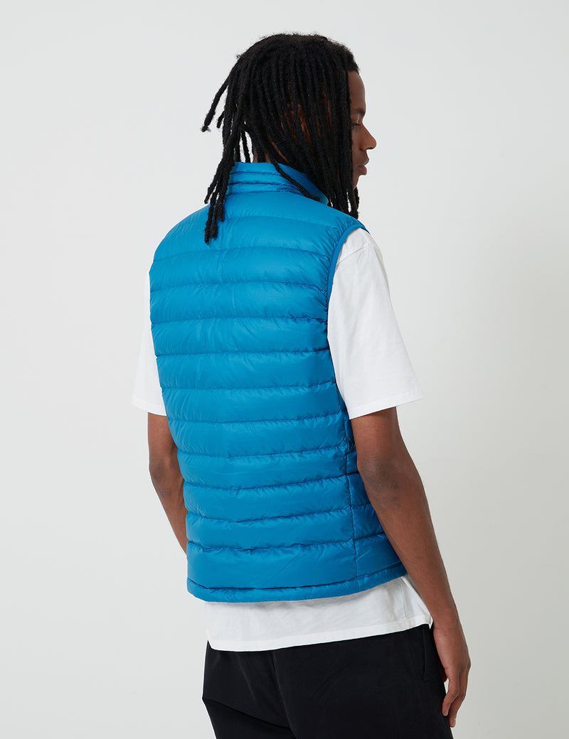 Patagonia Down Sweater Vest - Balkan Blue