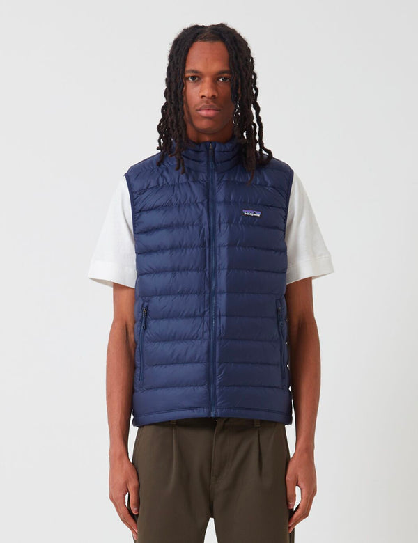 Patagonia Down Sweater Vest - Classic Navy Blue