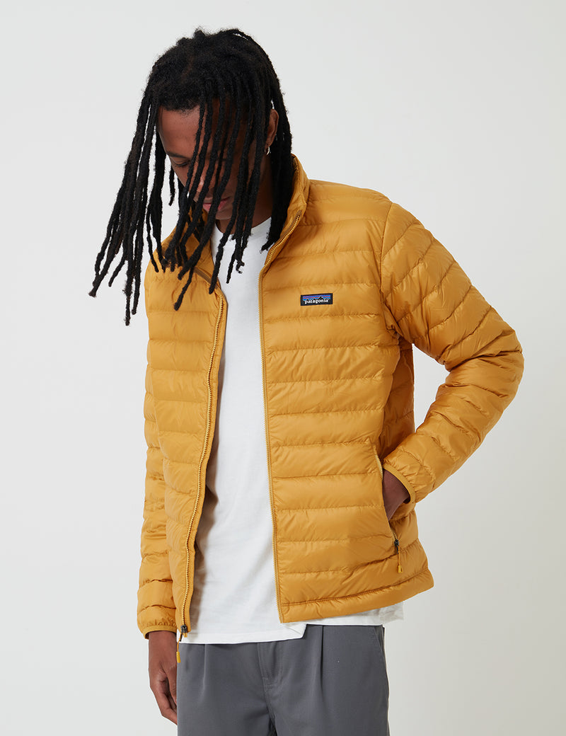 Patagonia Down Sweater Jacket - Buckwheat Gold