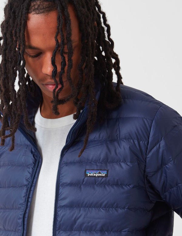 Patagonia Down Sweater Jacket - Classic Navy Blue