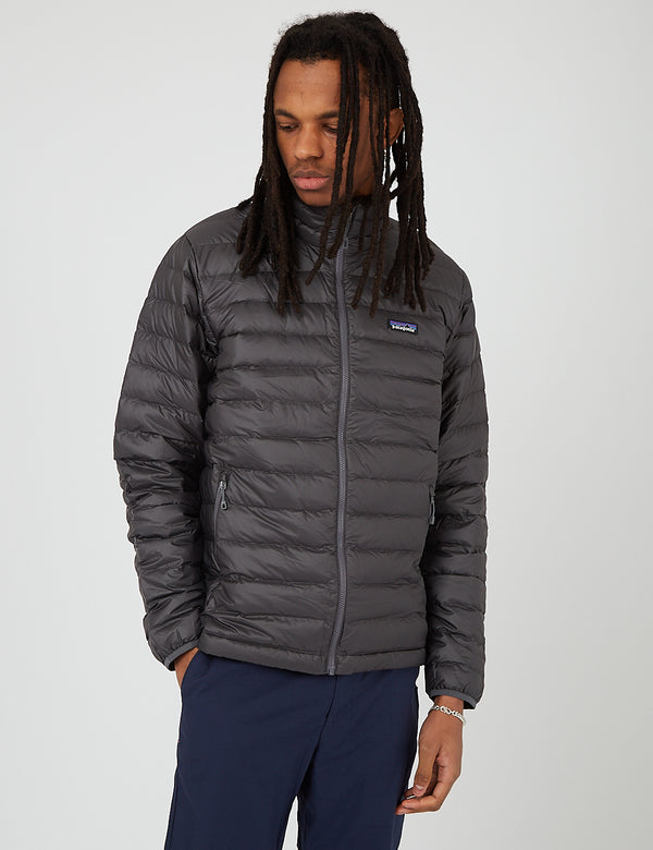 Patagonia Down Sweater Insulated Jacket - Forge Grey w/Forge Grey