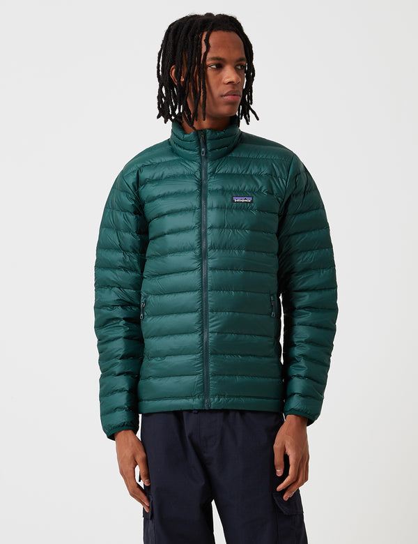 Patagonia Down Sweater Jacket - Micro Green