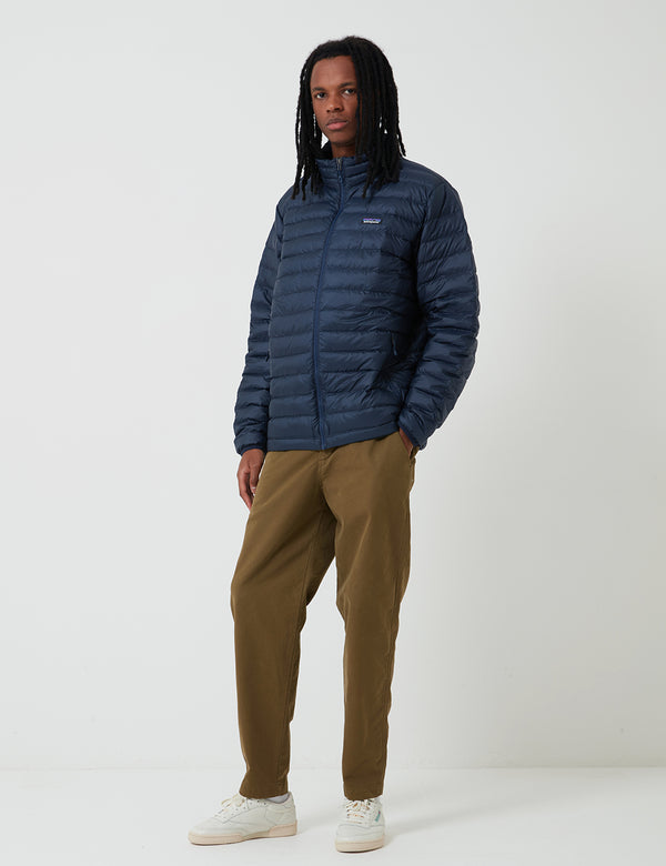 Patagonia Down Sweater Jacket - Navy Blue w/Navy Blue