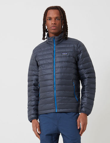 Patagonia Down Sweater Jacket - Smolder Blue/Andes Blue