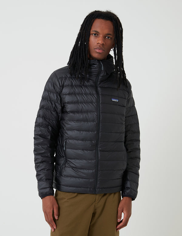 Veste à Capuche Patagonia Down Sweater - Black