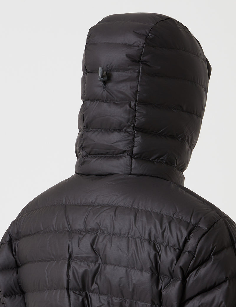 Patagonia Down Sweater Hooded Jacket - Black