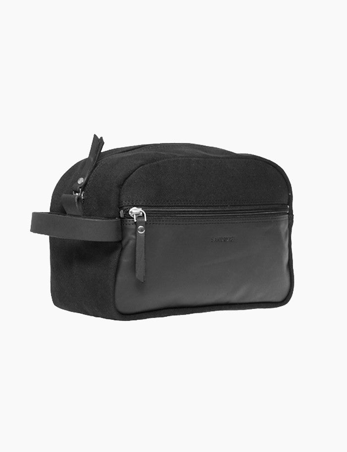 Sandqvist Adrian Wash Bag - Black