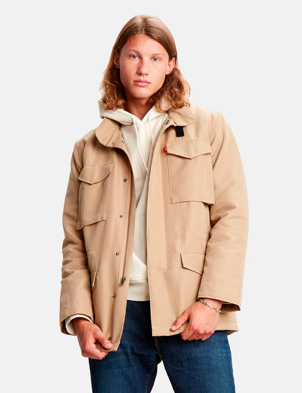 Manteau Levis Sherpa Field - Harvest Gold