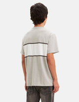 Levis Authentic Colour Block T-Shirt - Heather Grey