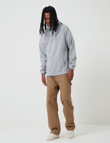 Levis Skate Quarter Zip 3 - Rollerskate Grey Heather