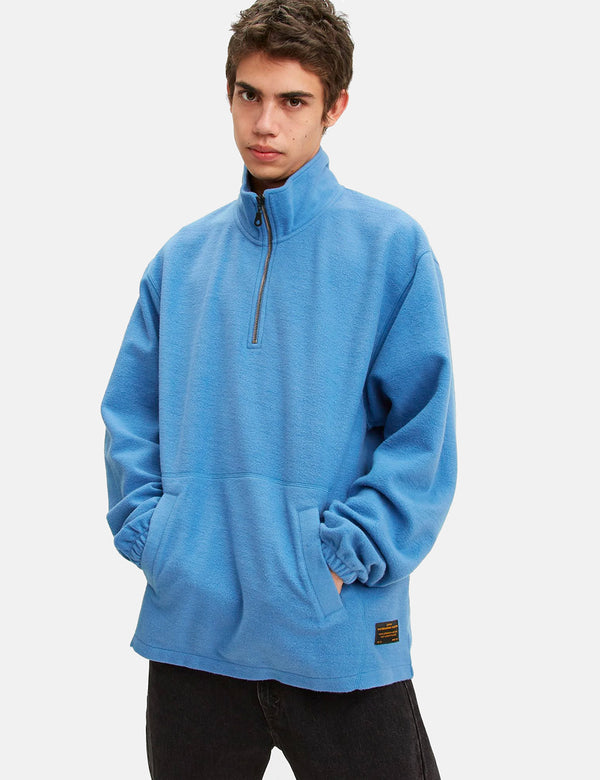 Levis Skate Quarter Zip 3 - Riverside Blue