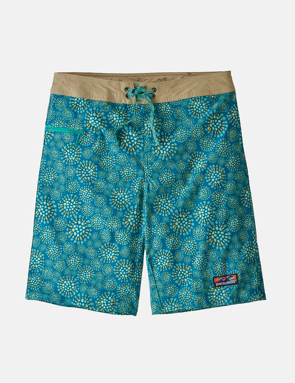 Short de bain Patagonia Stretch Wavefarer (21 po) - Tropical Bloom:Seaport