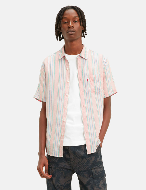 Levis Sunset One Pocket Striped Shirt - Aiden Farallon