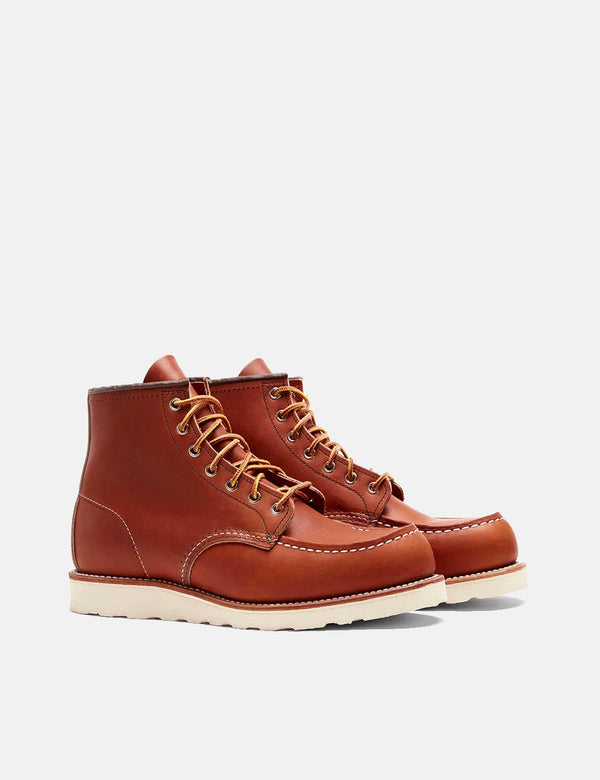 "Bottes Moc Toe 6""Heritage Work de Red Wing (875) - Fauve"