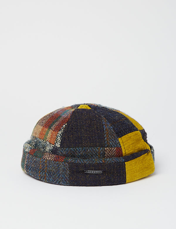 Stetson Docker Patchwork Hat - Multi