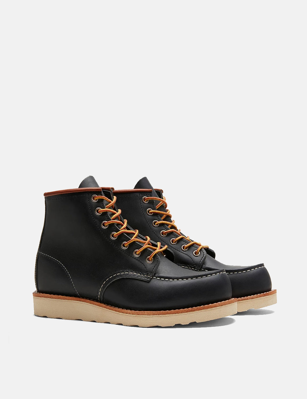 "Red Wing 6"" Moc Toe Work Boot (8859) - Navy Blue 