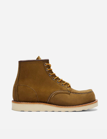 "Red Wing 6"" Moc Toe Work Boot (8881) - Olive Green Mohave"