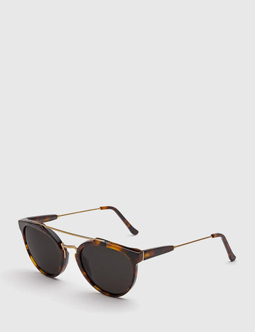 Super Giaguaro Sunglasses - Havana Brown