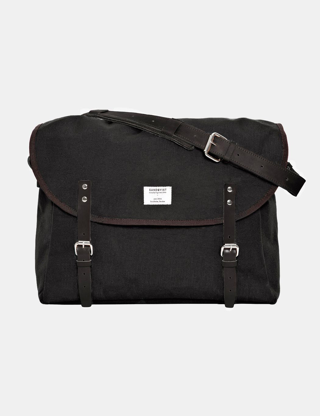 Sandqvist Erik Messenger Bag - Black