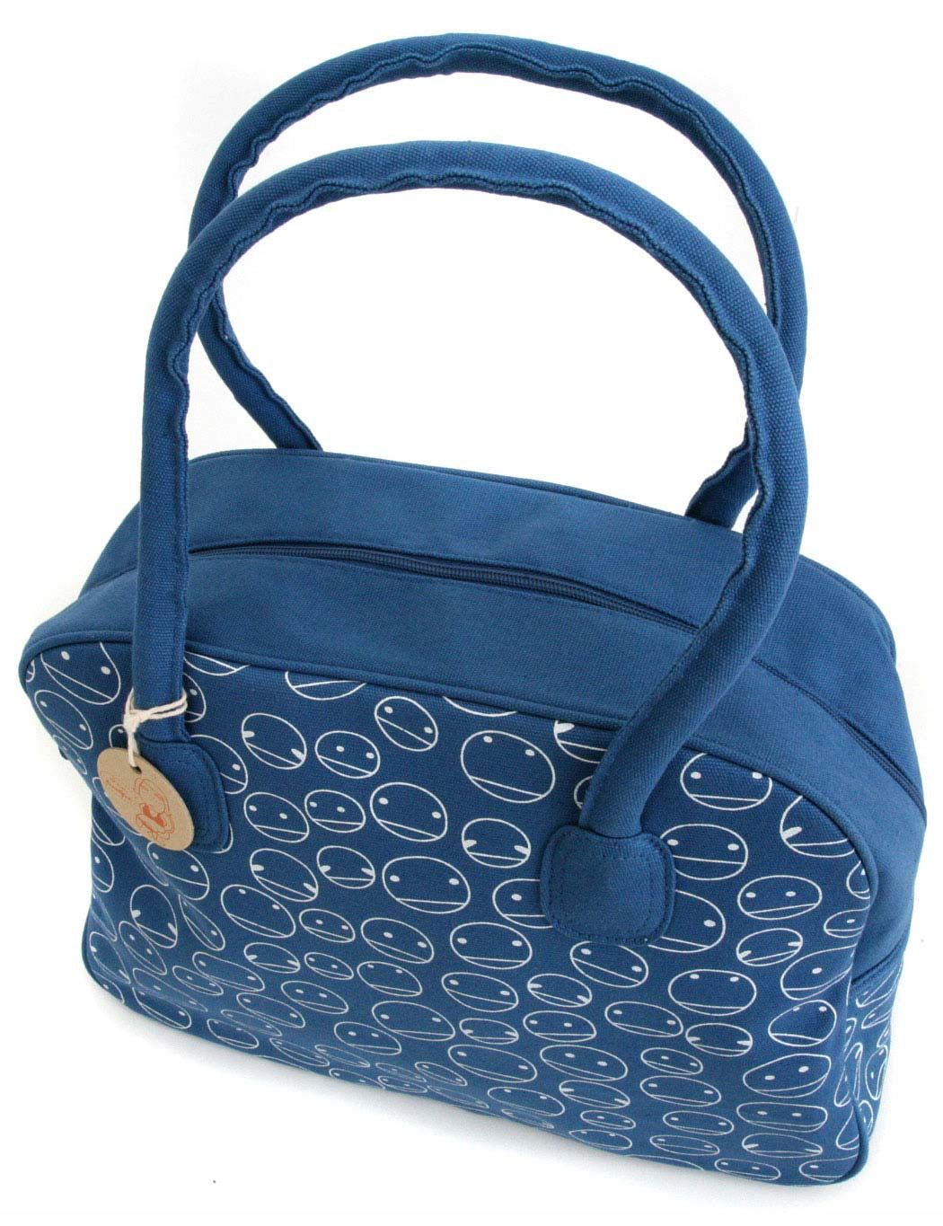 Noodoll Smiley Bowling Bag - Blue
