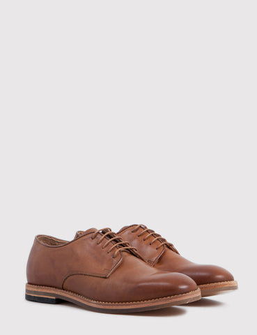 Hudson Hadstone Calf Leather Shoes - Tan