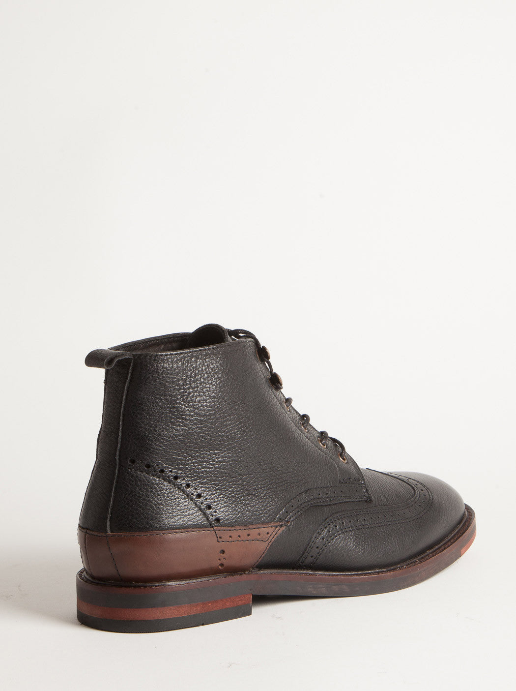 Hudson Harland Calf Leather Boots - Black