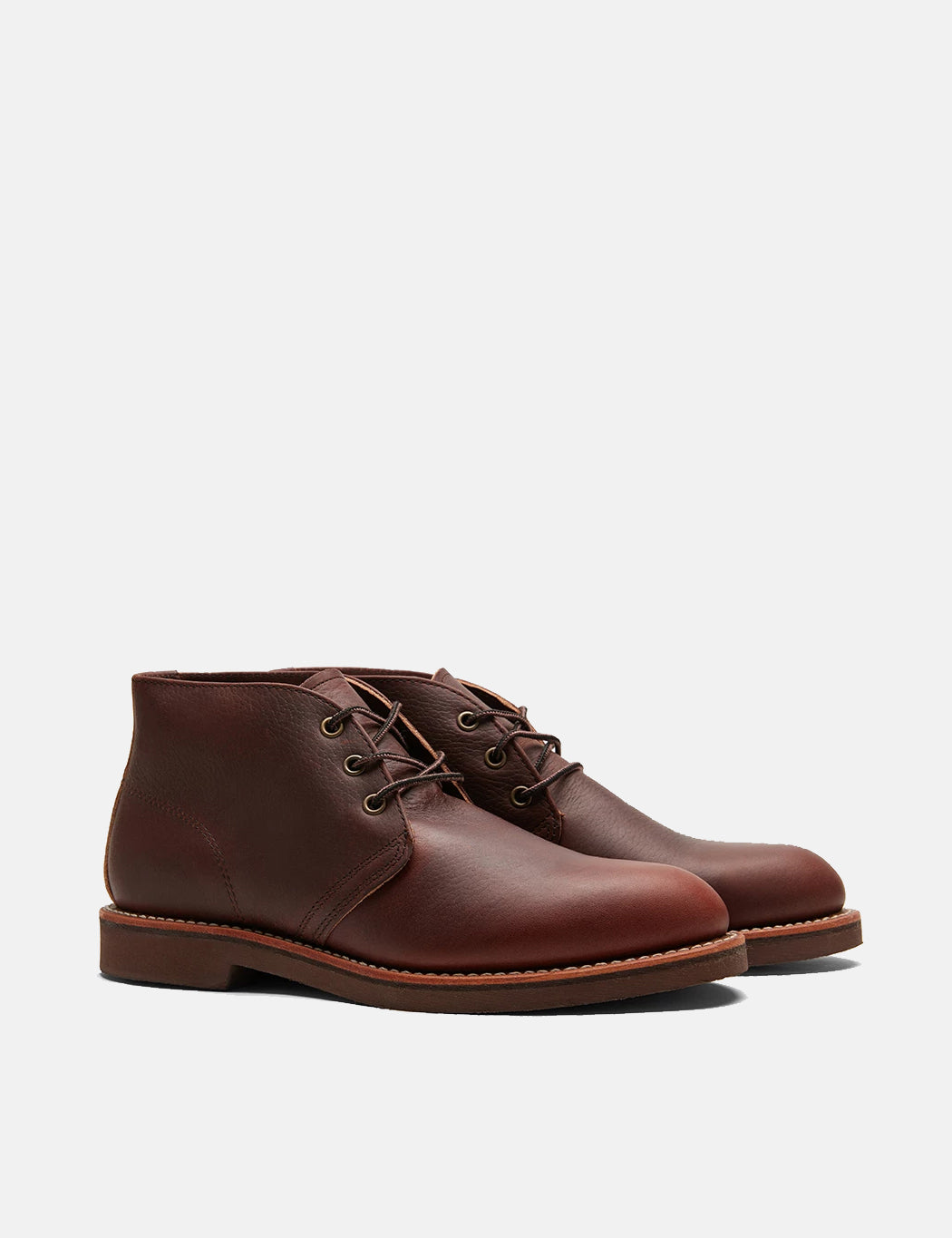 Red Wing Foreman Chukka Boots (9125) - Brown Briar Oil Slick