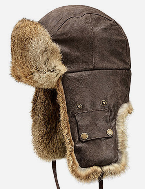 Stetson Starkville Fur Trapper Hat - Brown  a8792359447