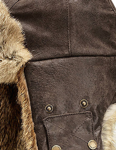 Stetson Starkville Fur Trapper Hat - Brown