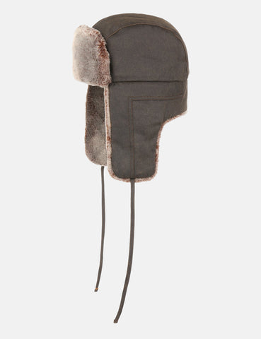 Stetson Aviator Trapper Hat (Cotton) - Brown