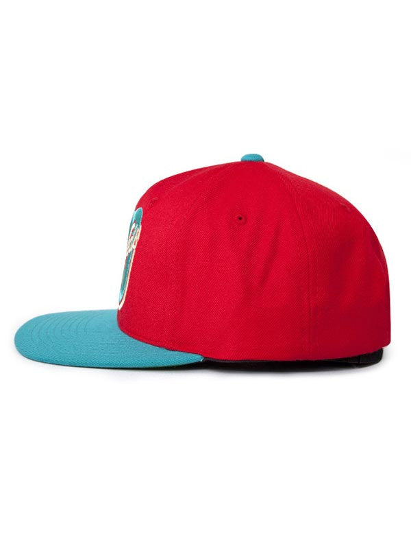 The Hundreds Eight Zero Snapback Cap - Red