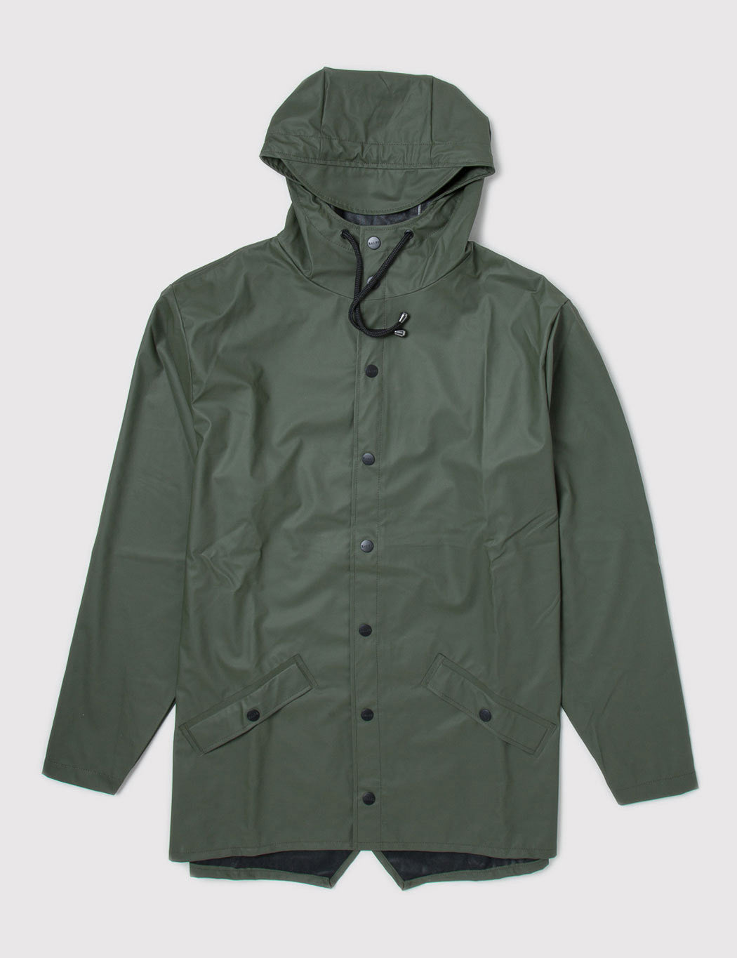 Rains Waterproof Jacket - Olive Green