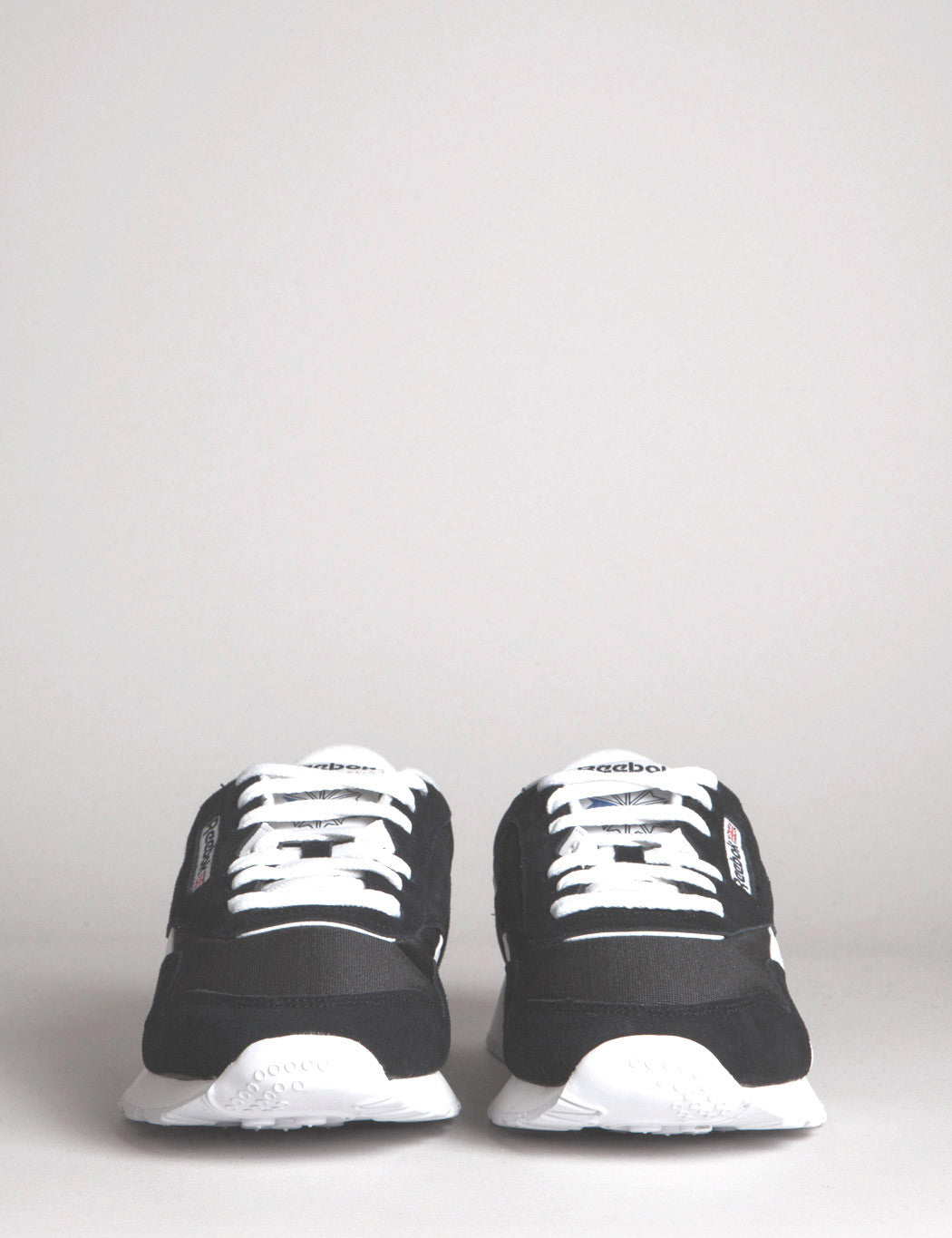Reebok CL Classic Trainers - Black/White