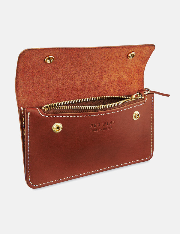 Red Wing Trucker Wallet - Oro Russet
