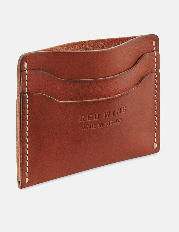 Portefeuille porte-cartes Red Wing - Oro Russet