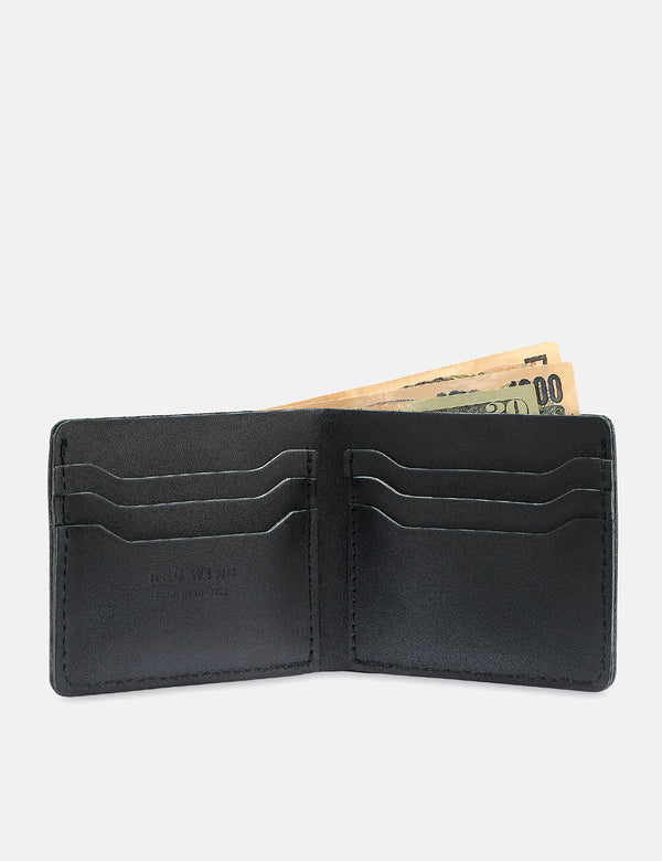 Red Wing Bi-Fold Dual Card Wallet - Black