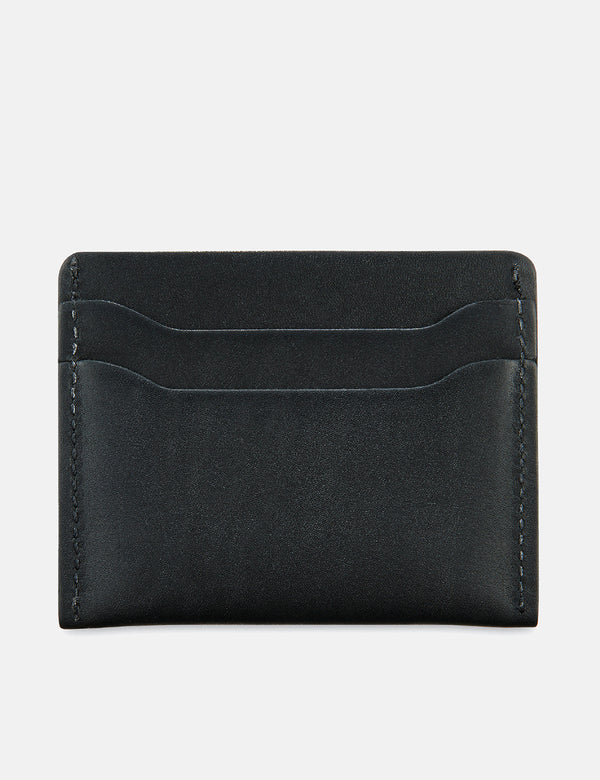 Red Wing Card Holder Wallet - Black