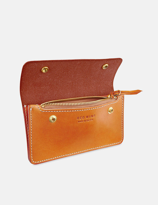 Red Wing Trucker Wallet - London Tan